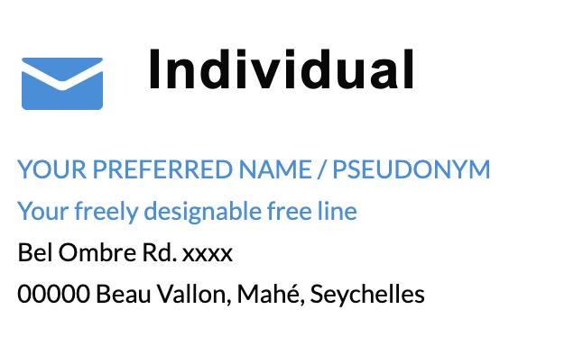 individual address