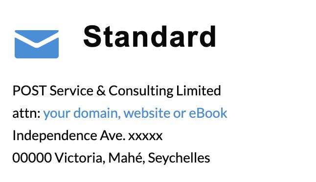 standard address