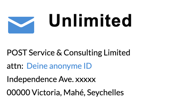 unlimited adresse